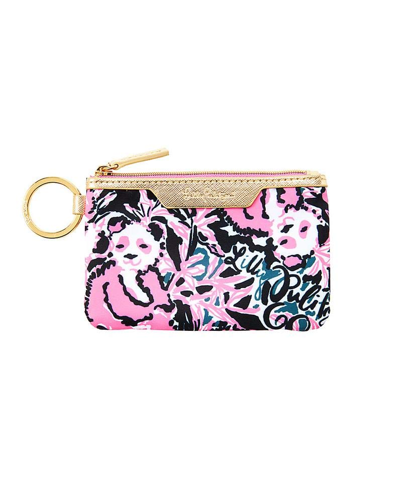 Lilly Pulitzer - Key Id Case - Hangin with my Boo