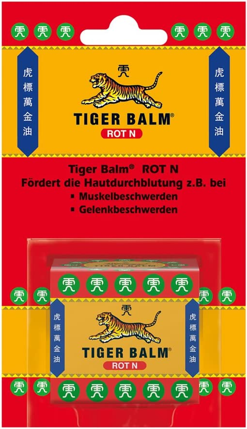 Rotes Tiger Balsam mit ätherischen Ölen und Natur Kräuter