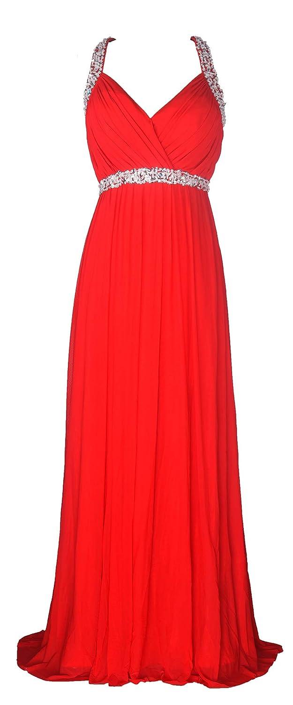 7445ab3ec32 conail Coco Women Ruched Waist Rhinestone Casual Formal Long Wedding  Bridesmaid Dress 6002 at Amazon Women s Clothing store