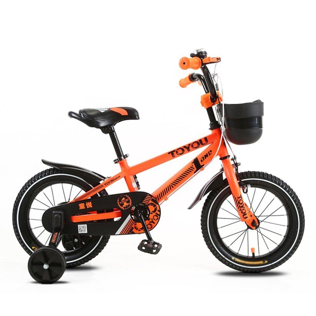 CSQ 子供の自転車、サイドの車輪のバスケット付きの赤ちゃんのための赤ちゃん快適な座席2-10歳の使用93-120CM 子供用自転車 (色 : A, サイズ さいず : 93CM) B07DXDJKG9 93CM A A 93CM