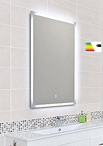 Krollmann Badspiegel Mit Led Beleuchtung, Badezimmer Wandspiegel