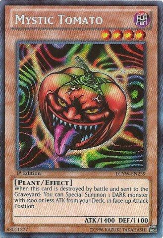 Yu-Gi-Oh! - Mystic Tomato (LCYW-EN239) - Legendary Collection 3: Yugi's World - Unlimited Edition - Secret Rare by Yu-Gi-Oh!