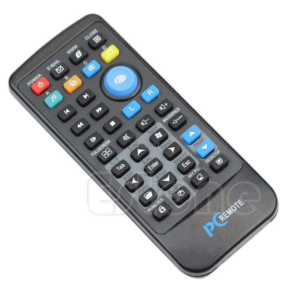 USB Laptop PC Wireless Media Remote Control Mouse Keyboard Center Controller
