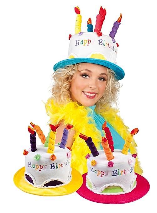 Buon Compleanno Torta A Forma Di Occhiali Da Vista Costume Giocattolo Giallo XkLY3fkw9