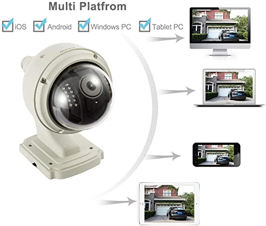 Sricam CCTV 720P HD Wireless Security Dome IP Camera WiFi Outdoor Waterproof CAM