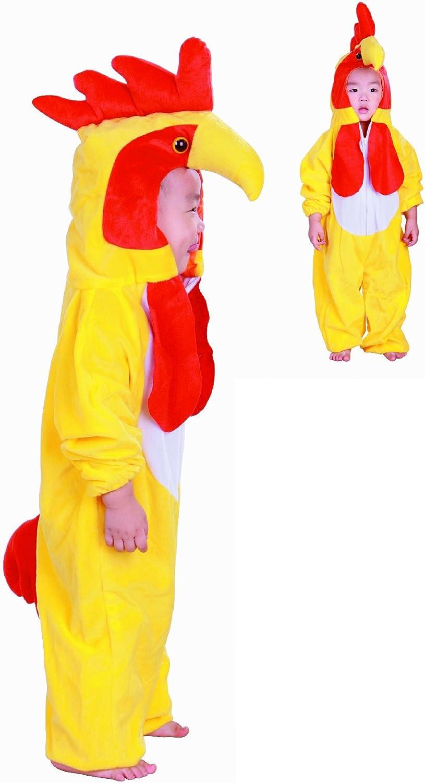 Fun Play - Disfraz de Pollo para niños - Disfraz de Animal - Mono ...