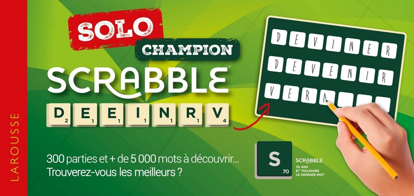 Scrabble Solo Champion (Hors Collection - Scrabble): Amazon.es: Larousse: Libros en idiomas extranjeros