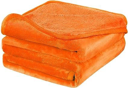viaggio per divano calda e spessa in microfibra leggera per tutte le stagioni letto 152,4 x 198,1 cm, bordeaux 330 g//m/² Coperta in pile di flanella misura doppia morbida PiccoCasa