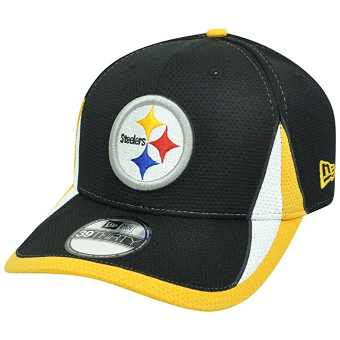 ba29976b Amazon.com : NFL Pittsburgh Steelers Team Color Training 39THIRTY Cap,  Large/X-Large : Sports Fan Novelty Headwear : Clothing