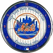 """MLB Chrome Clock, 12"""""""