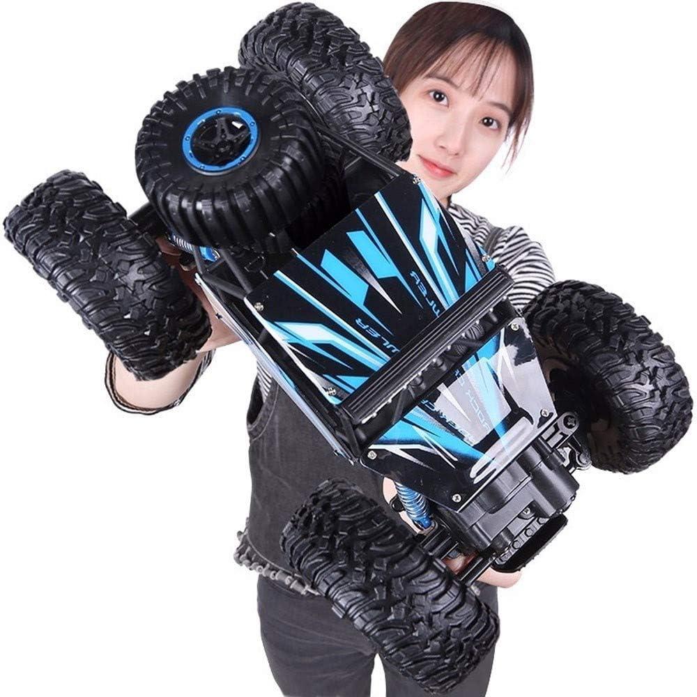 Ycco 1:14 alta velocidad RC pies grandes coche teledirigido motor doble controlado de radio de 2,4 GHz Race Buggy Hobby carreras de camiones monstruo del camino eléctrico del camión oscila los regalos