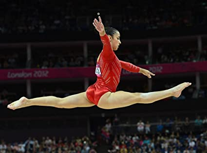9ae5771e822e7 Image Unavailable. Image not available for. Color: Aly Raisman 18X24 Poster  ...