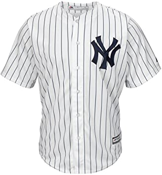 Majestic Athletic MLB New York Yankees Cool Base Home Jersey Small