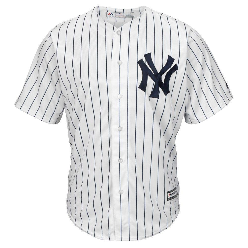 Majestic Athletic MLB New York Yankees Cool Base Home Jersey X Large: Amazon.es: Deportes y aire libre