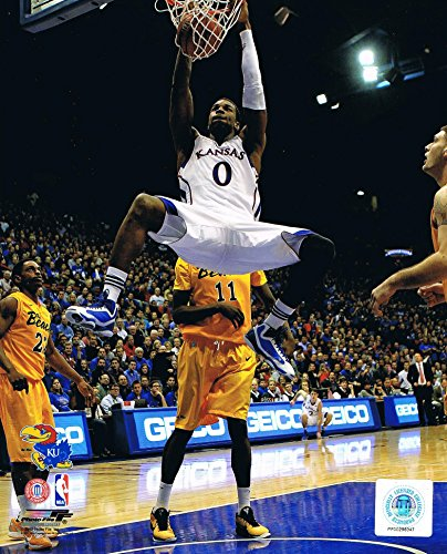 Unsigned Basketball (Thomas Robinson Kansas Jayhawks Unsigned 8x10 Basketball Photo)