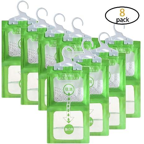 Amazon.com: Hapy Shop - Juego de 8 bolsas para colgar ...
