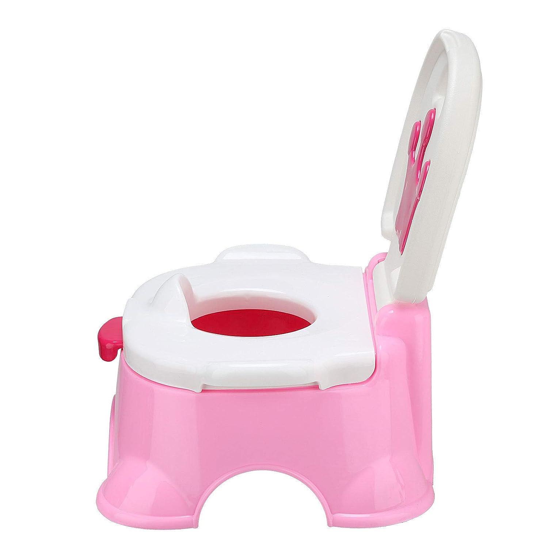 3in1 Toilettentrainer Kinder Toilettensitz Baby WC Lerntöpfchen Töpfchen Musik