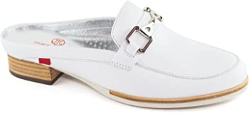 Womens Genuine Leather Made in Brazil Casual Park Ave Mule Marc Joseph NY Fashion Shoes