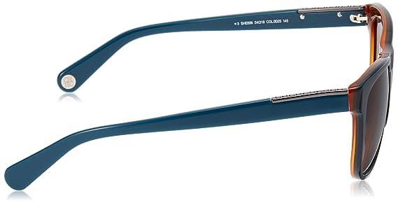 Carolina Herrera SHE686540D25 Gafas de Sol, Azul, 54 para ...