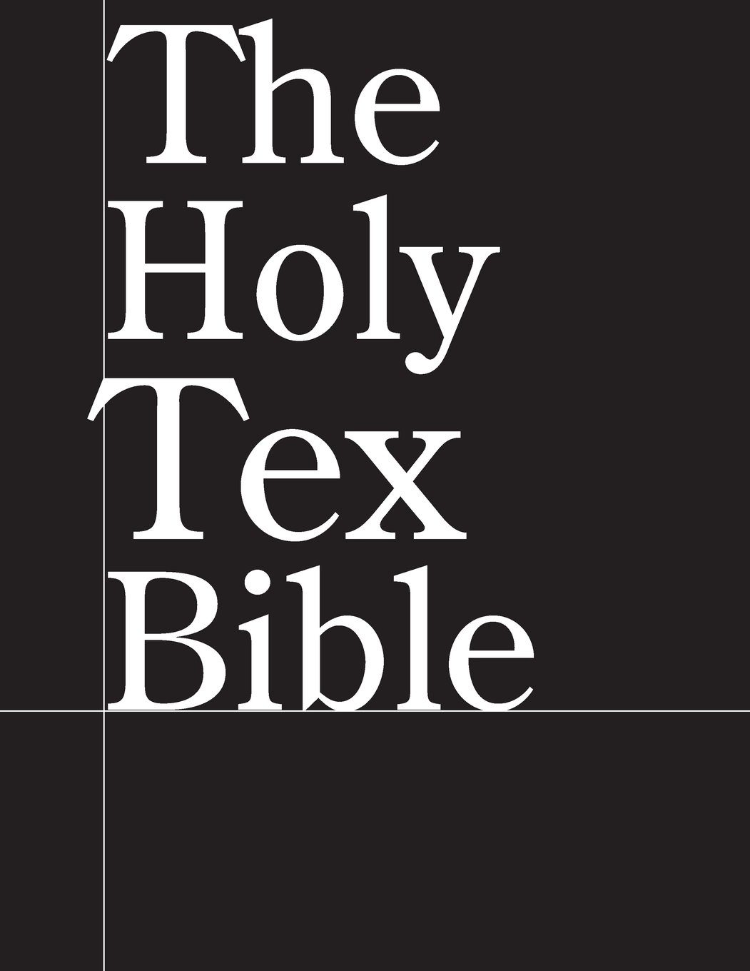The Holy Tex Bible pdf