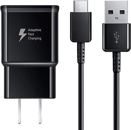 Amazon.com: Samsung Galaxy cargador rápido, adaptador de ...