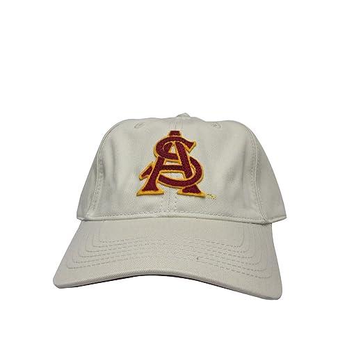 Arizona State University Sun Devils Khaki Polo Style College Team ... 9d32211c704