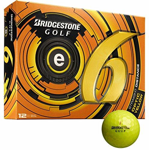 Bridgestone 3 Dozen e6 Straight Distance 36 Golf Balls – Optic Yellow