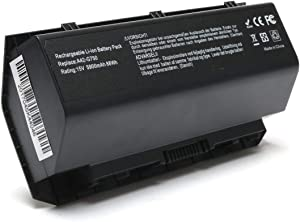 8-Cell A42-G750 Laptop Battery for ASUS G750 G750J G750JH G750JM G750JS G750JW G750JX G750JZ G750Y47 X551M JX-BL, ROG GX800VH G752 Series 0B110-00200000M, Li-ion 15V 88WH -12 Months Warranty