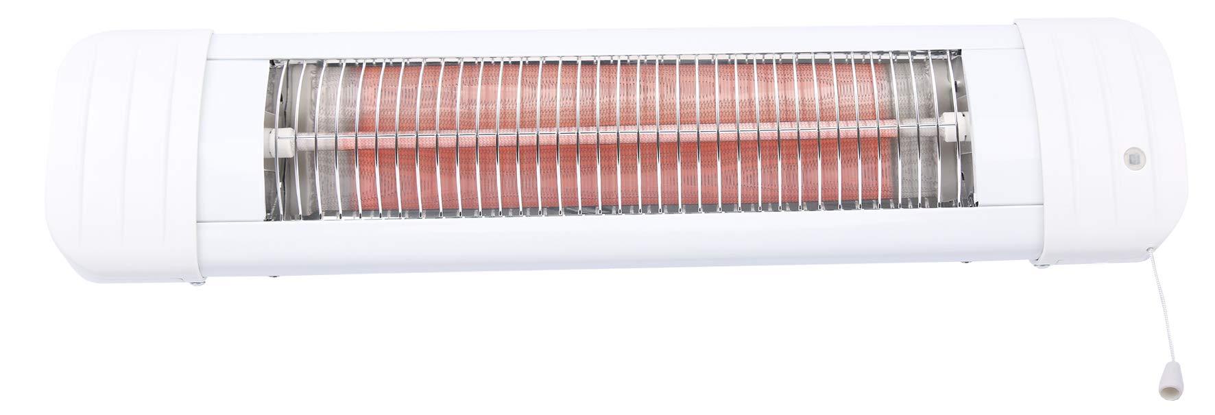 H+H Premium Wickeltisch Heizstrahler 600 Watt mit Abschaltautomatik product image