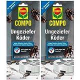 COMPO Ungeziefer-Köder 4 Dosen Vorteilspackung (2× 2 Dosen)