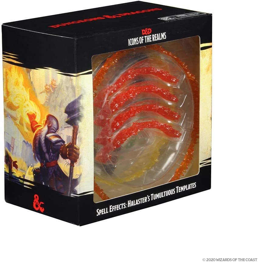 WizKids D/&D Icons of The Realms Model:96013 Spell Effects Tumultuous Templates