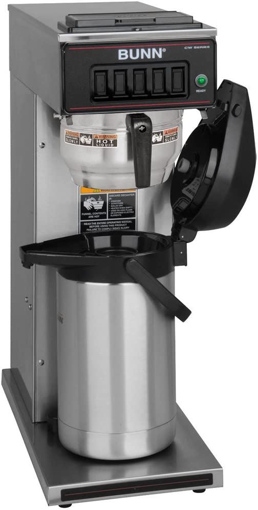 BUNN CW15-APS Pourover Airpot Coffee Brewer with Gourmet Funnel