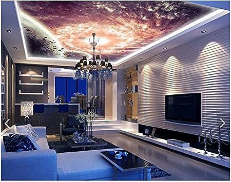 Lwcx 3d Wallpaper 3d Ceiling Wall Murals Wallpaper Bar Ktv Room