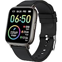"""Smartwatch, 1.69"""" Reloj Inteligente Hombre Mujer Impermeable IP68 Pulsera Actividad 24 Modos Deporte con Pulsómetro…"""