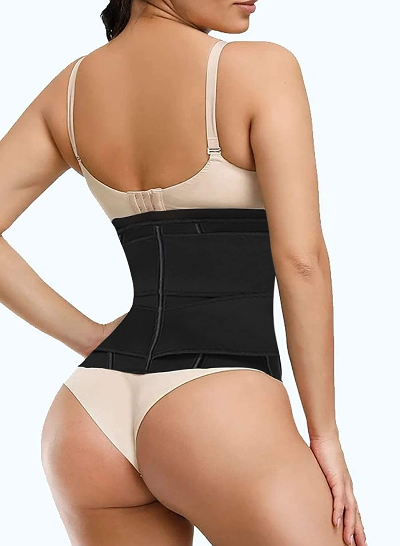 GOSOPIN Womens Waist Trainer Weight Loss Corset Trimmer Belt Waist Cincher Body Shaper Slimming Sports Girdle S-XXX Large