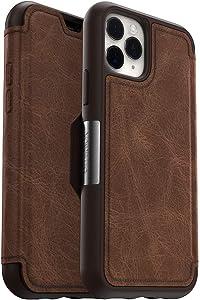 OtterBox STRADA SERIES Case for iPhone 11 Pro - ESPRESSO (DARK BROWN/WORN BROWN LEATHER)