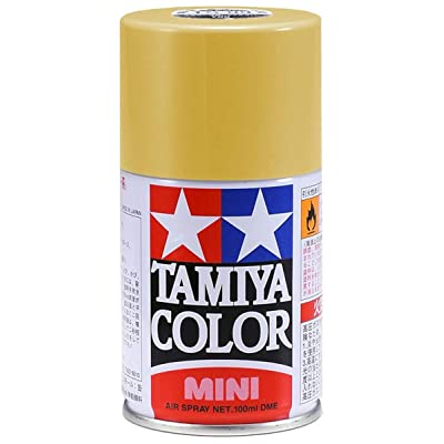 Tamiya 85003 Lacquer Spray Paint, TS-3 Dark Yellow - 100ml Spray Can: Toys & Games