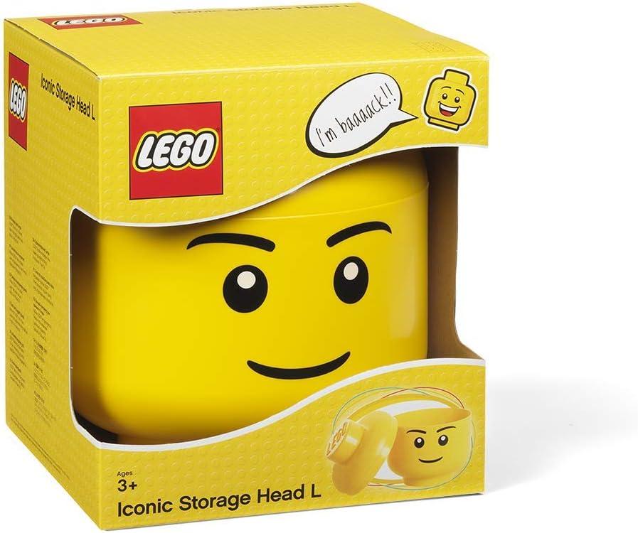 Lego - Cabeza de Almacenaje Niño L (Room Copenhague #40321724): Amazon.es: Juguetes y juegos