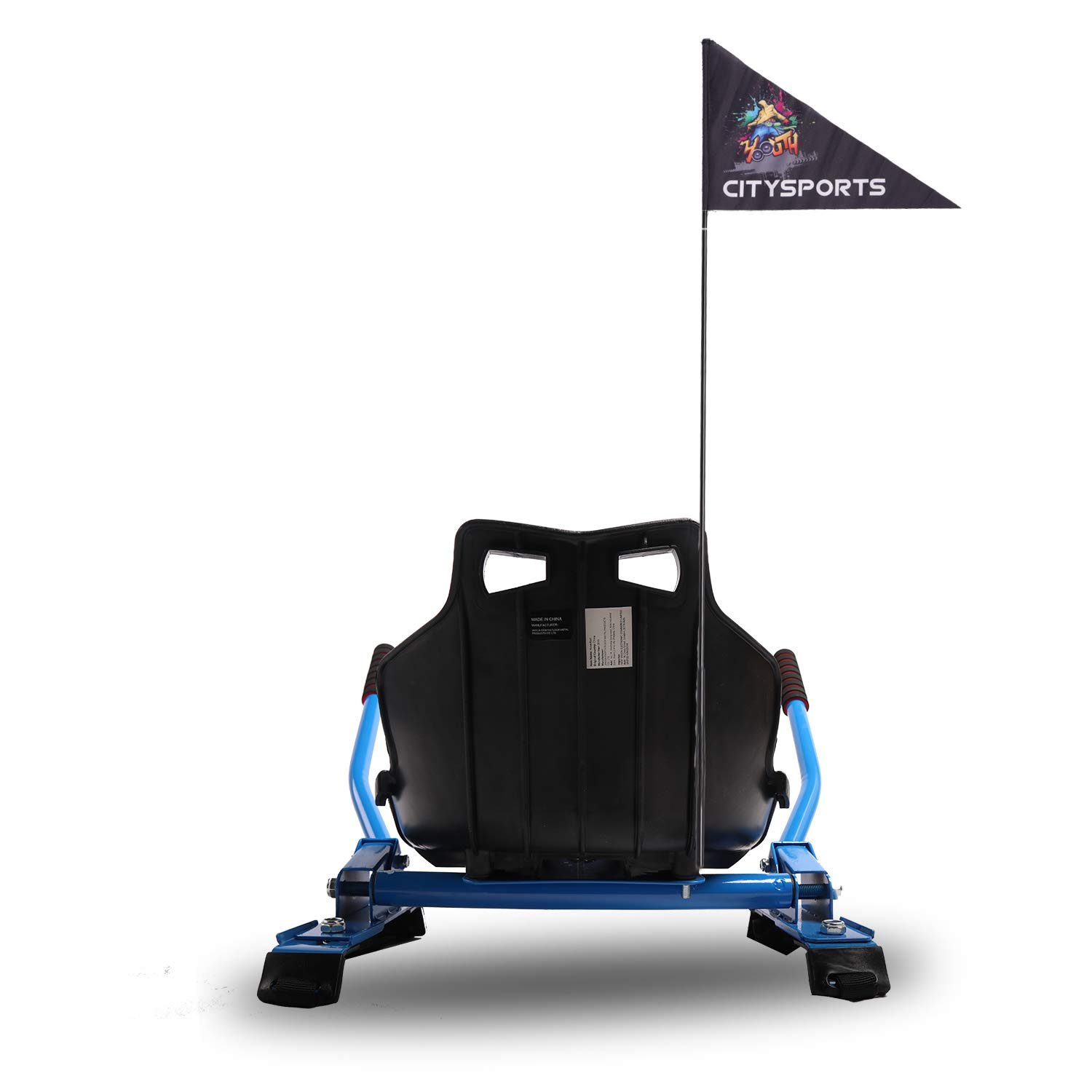 CITYSPORTS Hoerkart-Go Kart Conversion Kit for Hoverboards Safer For Kids All Ages HoverBoard Not Included All Heights Self Balancing Scooter Compatible with All Hoverboards