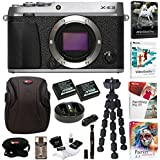 Fujifilm X-E3 Digital Camera Body (Silver) with Editing Software and Accessory Bundle