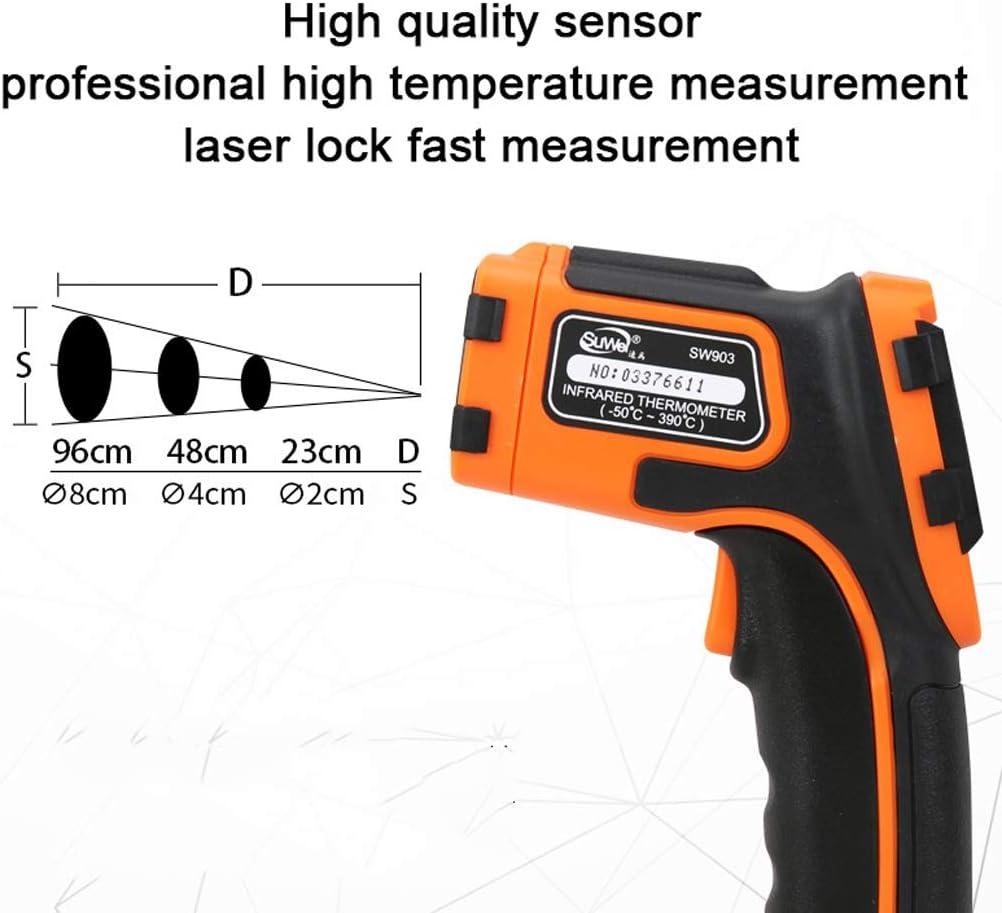 Color : 903-Official standard Macchina industriale di temperatura dellacqua della pistola elettronica tenuta in mano di alta precisione del termometro a infrarossi