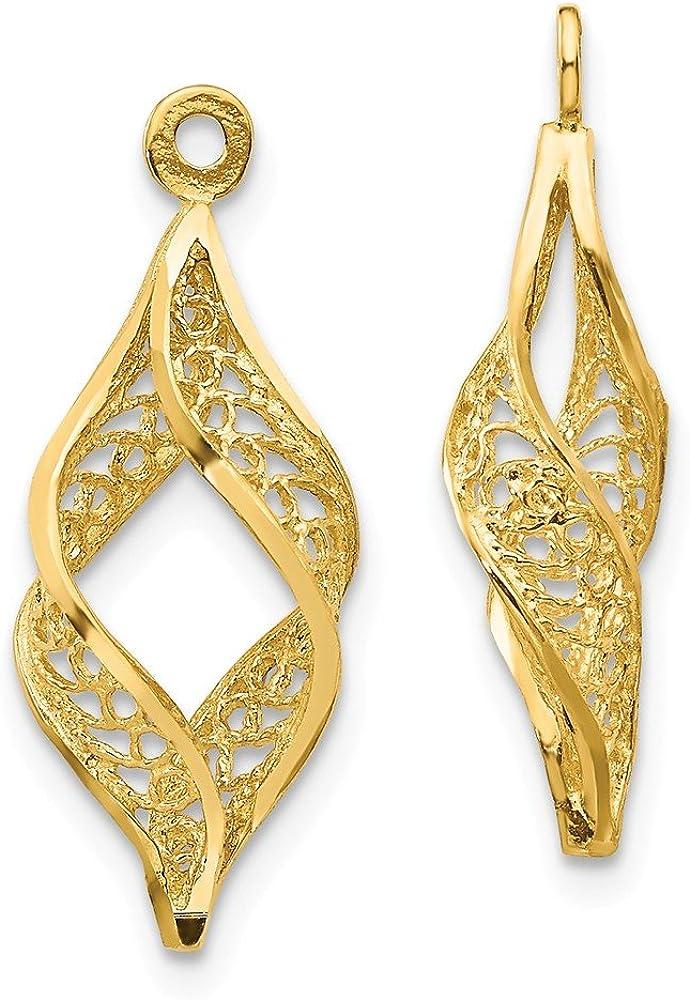 14k Gold Diamond-cut...