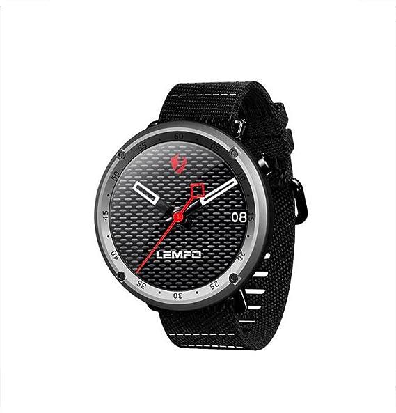 Reloj Inteligente Bluetooth GPS Modo Deportivo multifunción Hombres Adultos y Mujeres Reloj de Ritmo cardíaco Reloj
