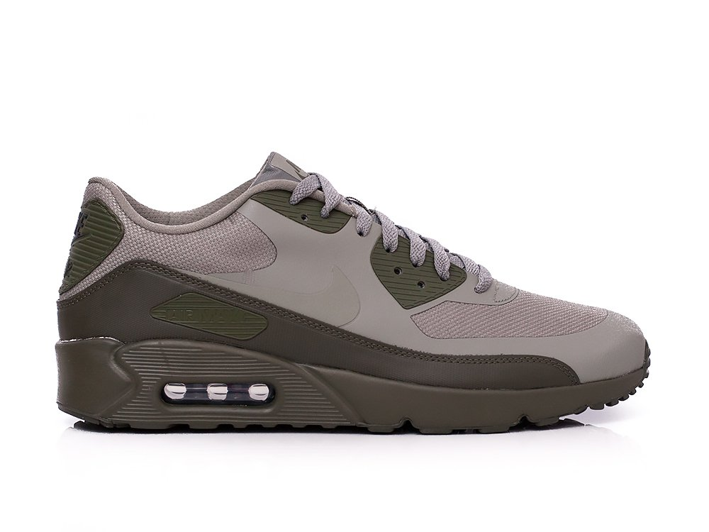 6a4a7e295aad1 NIKE Air Max 90 Ultra 2.0 Essential Mens Running Trainers 875695 Sneakers  Shoes (UK 7.5 US 8.5 EU 42, Dark Stucco 013)