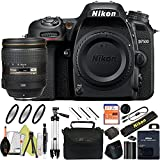 Nikon D7500 DSLR Camera With 18-140mm ED VR Lens - Includes Manufacturer Supplied Accessories (24-120mm Lens, Basic Bundle)