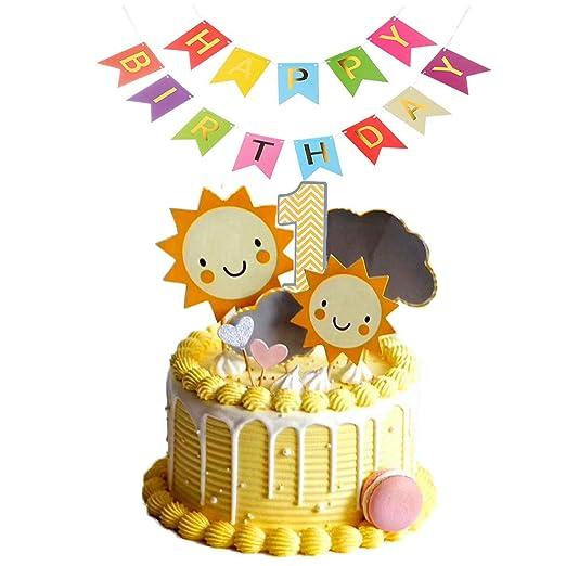 Paquete de 40 decoraciones de unicornio para cupcakes ...