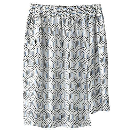 La Redoute Collections Womens Printed Wrapover Skirt Green Size US 10 ()
