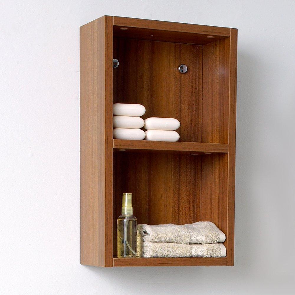 Amazon.com: Fresca Bath FST8092TK Bathroom Linen Side Cabinet with 2 Open  Storage Area, Teak: Kitchen & Dining - Amazon.com: Fresca Bath FST8092TK Bathroom Linen Side Cabinet With