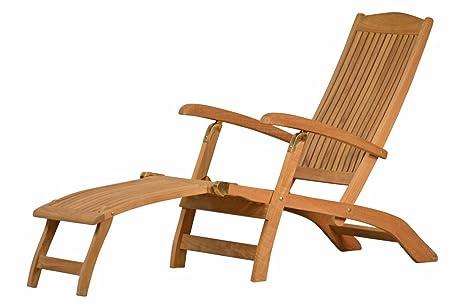 Premium teck chaise longue de la série \
