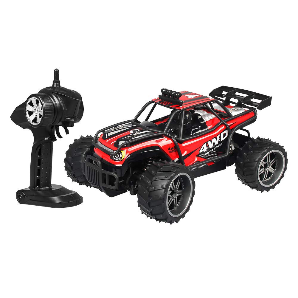 Elaco High-Speed Off-Road Vehicle X Power s-009 1:16 25km/h 2.4G RC Car 4WD Double Battery High Power Racing Truck by Elaco1